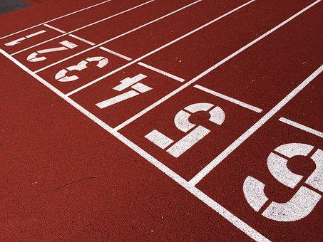 Tracks, Field, Arena, Athletes, Numbers
