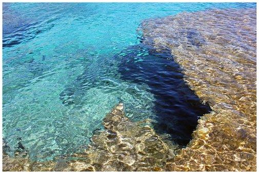 Sea, Booked, Lagoon, Spain, Mallorca, Cliff, Blue