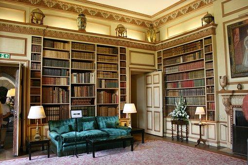 Library, Books, Leeds Castle