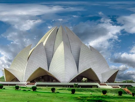 Temple, Lotus Temple, Architecture, Building, New Delhi
