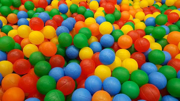 See, Color Balls, A Variety Of Colors, Children's