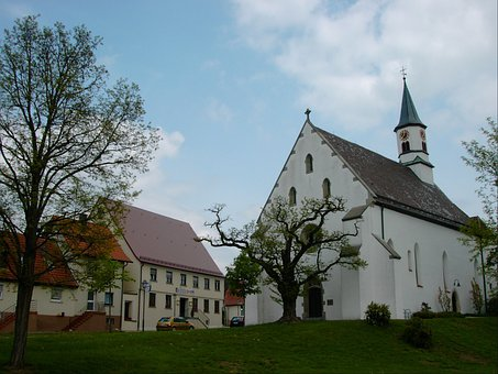 Church, Leonhard Church, Langenau, Building