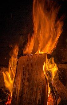 Fire, Fireplace, Bariloche, Carihue