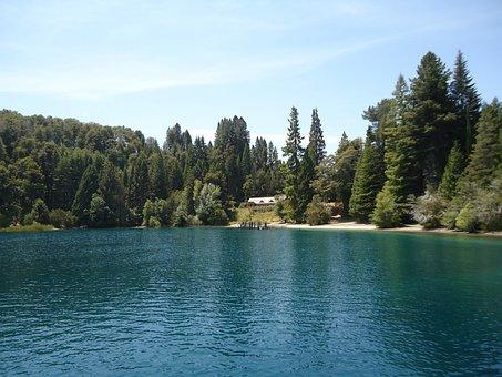 Bariloche, Landscape, Nature, Lake, Forest