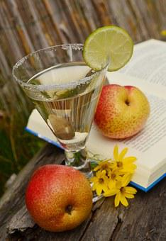 Drink, Glass, Fruits, Refreshment, Transparent