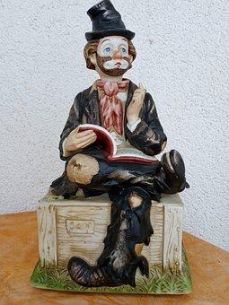Statuette, Vagabond, Book, Funny
