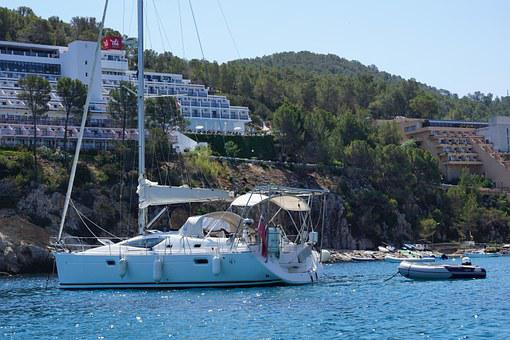 Boat, Sea, Water, Luxury, Yacht, Ibiza, Bay, North