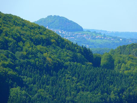 Hohenstaufen, Blue, Haze, Colourless, Mountain
