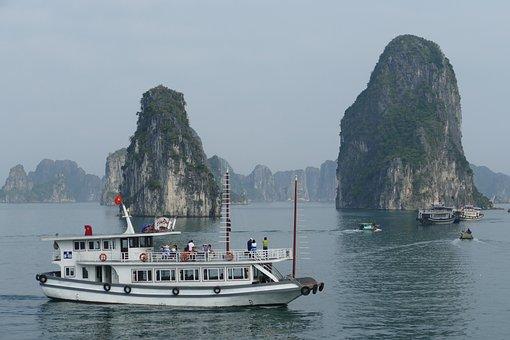 Vietnam, Halong, Sea, Nature, Halong Bay, Landscape