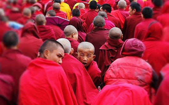 The Monks, The Monk, The Dalai Lama, Buddhism