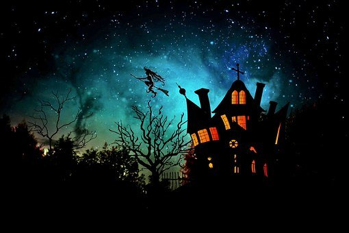 Witch's House, The Witch, Halloween, Fairy Tales