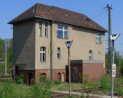 Grunewald, Berlin, Train Station, Signal, Railway