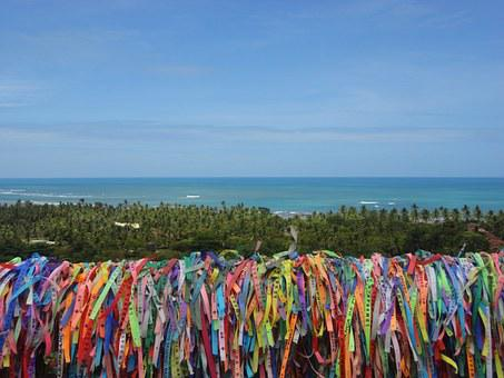 Colored Ribbons, Tourism, Brazil, Summer, Camp D'help