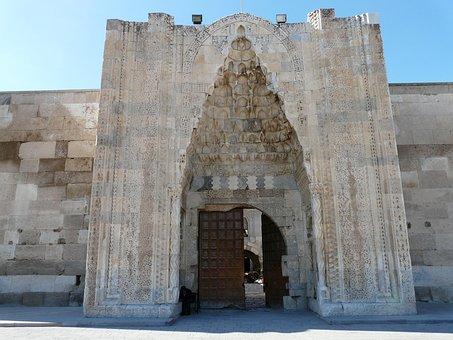 Caravanserai, Sultanhan Caravansary, Decorated Portal