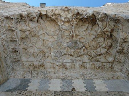 Sultanhan Caravansary, Decorated Portal, Caravanserai