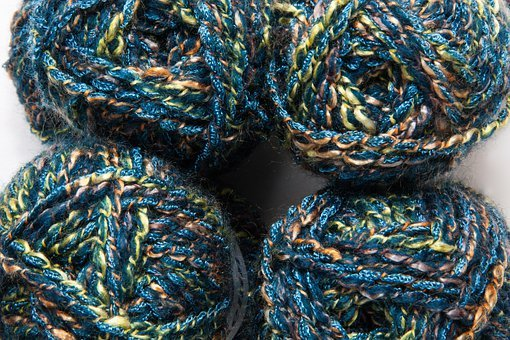 Wool, Cat's Cradle, Colorful, Spinning Enabled Hair