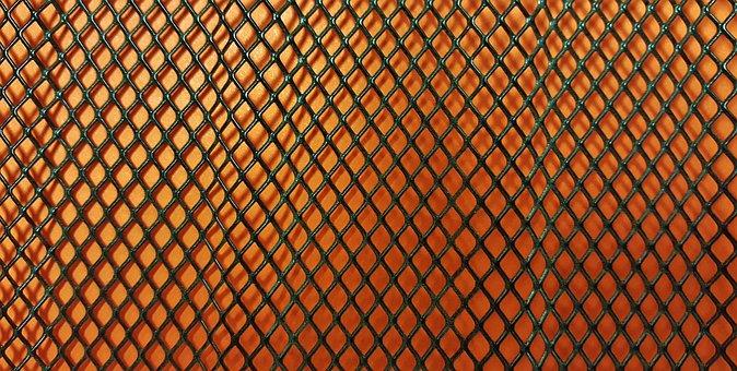 Mesh, Pattern, Background, Texture, Orange, Diagonal