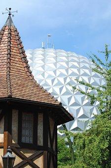 Eurosat, Europa Park, Architecture, Rust, Germany