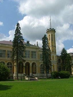 Castle, Károlyi Castle, Füzérradvány, Park