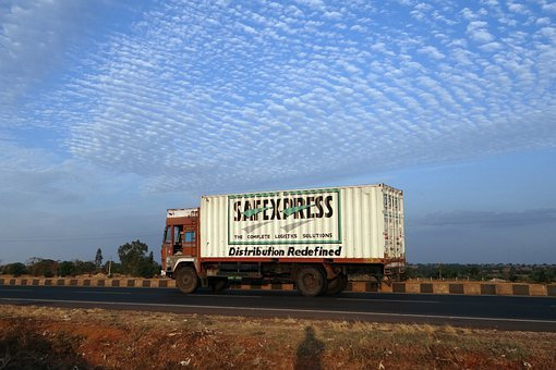 Truck, Lorry, Highway, Bangalore-pune, Road, India