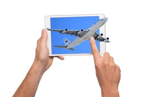 Tablet, 3d, Aircraft, Display, Ipad, Iman, Action