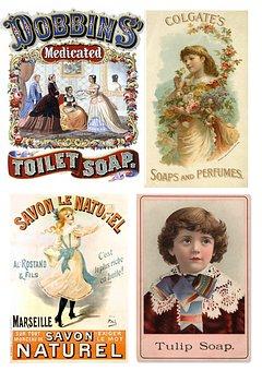 Labels, Vintage, Kids, Products, Collage, Scrapbooking
