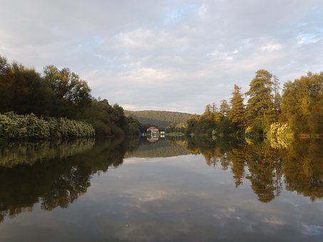 River, Lake, Reflection Klodzko, Klodzko, Poland
