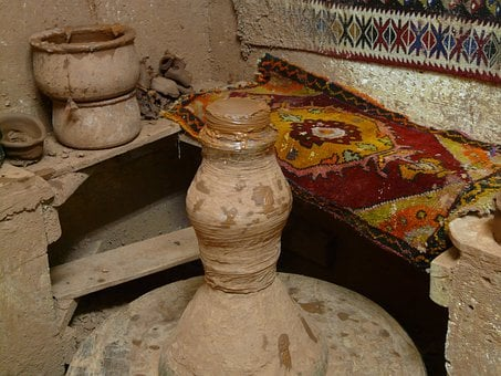 Potter's Wheel, Pottery Workshop, Pottery, Potters