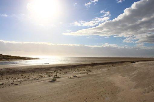 Saint Peter Ording, Beach, North Sea