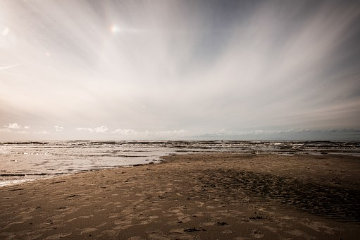 Baltic Sea, St Peter Obi, Coast, Sand, Cloud Mood, Sky