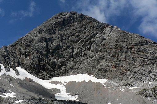Steinernes Meer, Pyramid, Mountain, Austria, Top, Snow