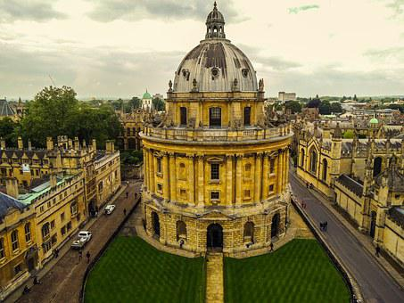 Oxford, Street, England, Old, Town, History, Historic