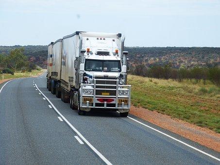 Semi Trailers, Truck, Road, Trailers, Transport