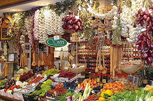 Market Hall, Stand, Vegetables, Fruit, Food