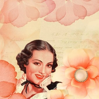 Background, Soft, Rose, Petals, Lady, Woman, Twenties