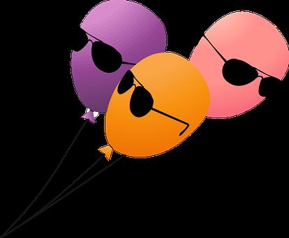 Balloon, Balloons, Birthday, Cia, Fbi, Festive, Fun