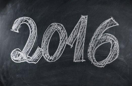 Board, Blackboard, New Year's Day, Year, New Year's Eve