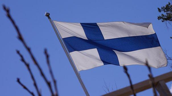 Flag Of Finland, Blue Cross Flag, Flagpole, Flag Lever
