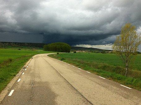 The, Road, Carmino De La Santiago, Jakobsweg