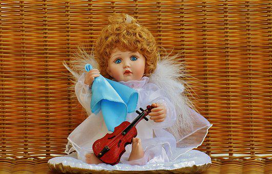 Collector's Doll, Angel, Guardian Angel, Sad, Sweet