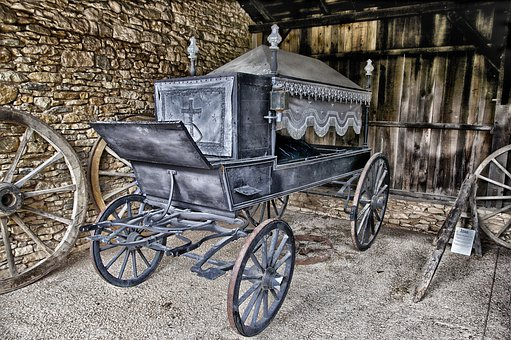 Hearse, Horse Drawn, Antique, Old, History, Historic