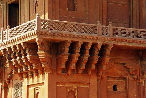India, Fahtepur Sikri, Palace, Architecture, Stone Lace