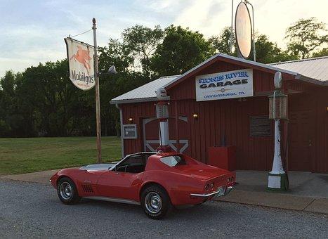 Corvette, Stingray, Sportscar, 72corvette, Redcar