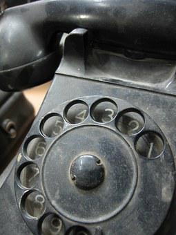 Vintage, Rotary, Telephone, Dial, Old, Europe, Home