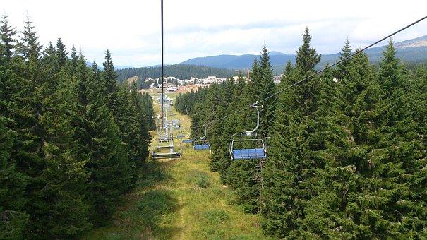 Serbia, Kopaonik, Ski Track