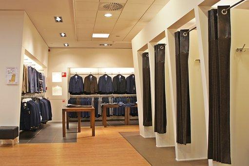 Clothing, Shop, Jacket, Costume, Fitting Room