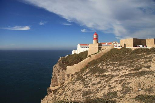 Lighthouse, Southern Tip Of Portugal