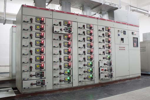 Distribution Room, Power Meter, Switch Cabinet