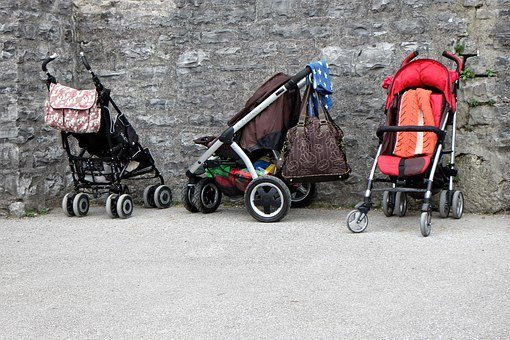 Baby Carriage, Buggies, Child, Sun Buggy, Vehicle