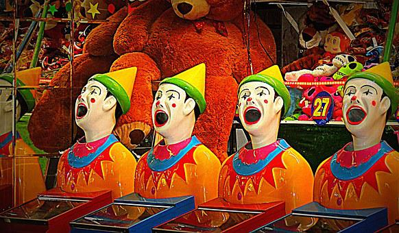 Clowns, Show, Entertainment, Carnival, Game, Amusement